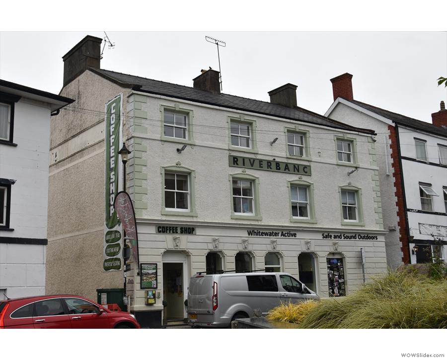 On Bridge Street in Llangollen, it's the old Midland Bank building...