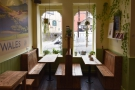 When it comes to seating, there's plenty of choice, starting with these two booths which...