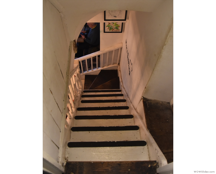 However, if you go back down, then the doorway which was always on the right...