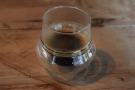 I'll leave you with an espresso, a shot of the Freak & Unique, also served in a glass.