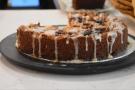 ... and this lemon blackberry polenta cake.