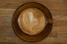 ... and with some equally lovely latte art.