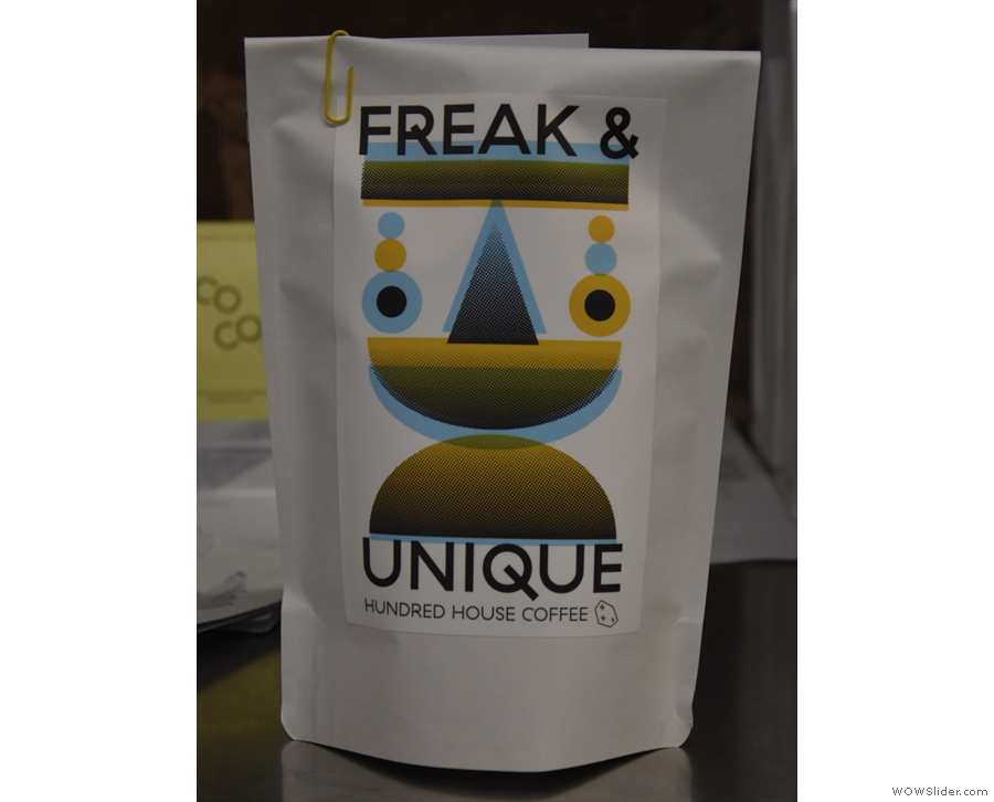 The second edition of Hundred House Coffee's Freak & Unique range...