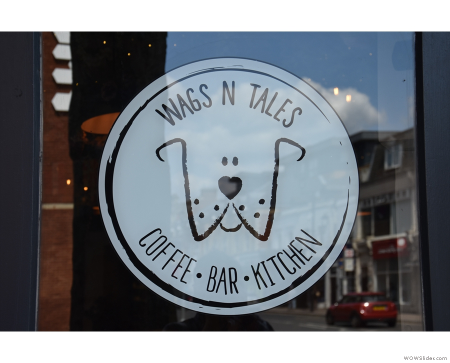 The sign says it all. If you are wondering where Wags N Tails is in relation to...