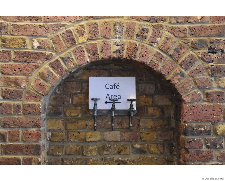 There's plenty of exposed brick in Wags N Tales and plenty of...