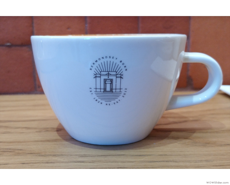 ... in this very lovely cup! However, I'm going to leave you with a quick pour-over lesson.