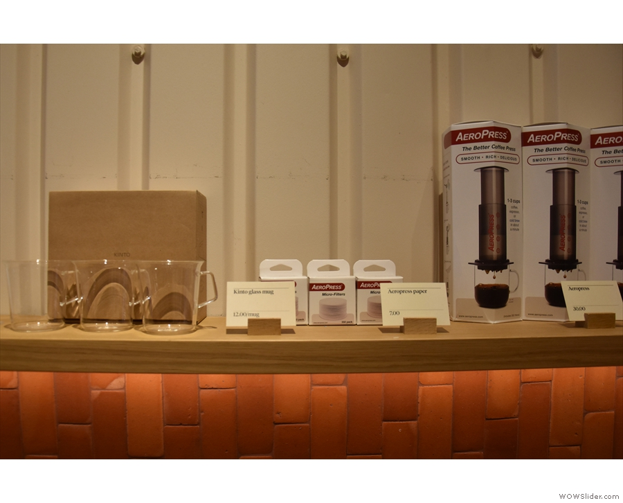 There's also coffee kit...