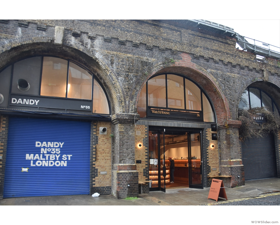 On Maltby Street, under the railway arches...