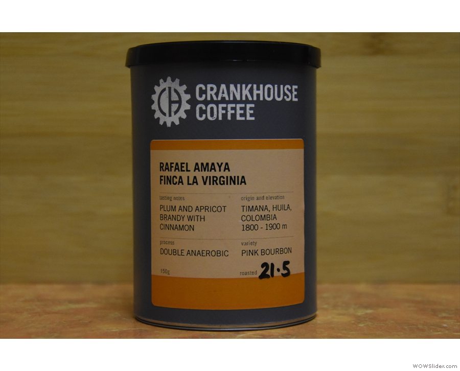 ... and staying in Colombia, the Finca La Virginia from Rafael Amaya.