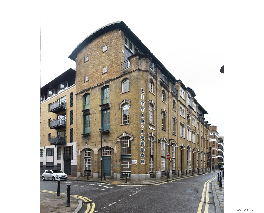 Little London in Bermondsey: offices, artists' studios and flats. However, go to the other...