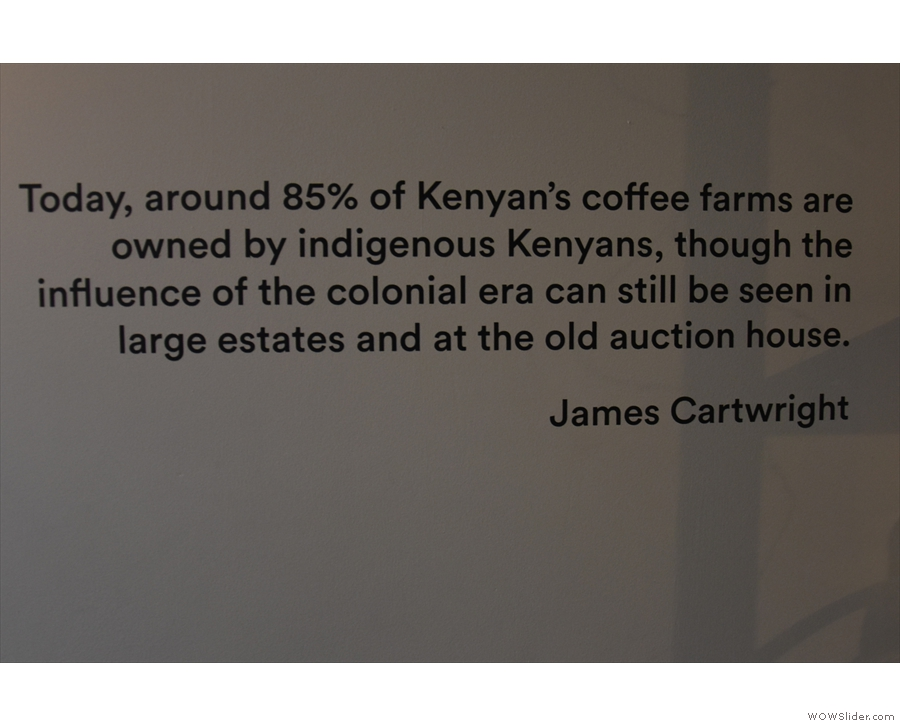 ... photographic documentary by Jake Green, looking at coffee production in Kenya.