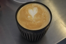 ... and the milk is added to produce a delicious flat white. And, of course, you can't visit...