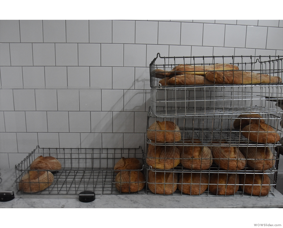 And loaves of bread...