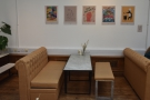 ... is a regularly changing dispay of art from local artists (the gallery part of Medicine).