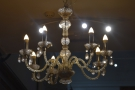 As you go up, don't forget to check out the chandelier!