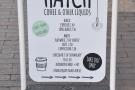 Hatch is a takeaway coffee window, by the way.