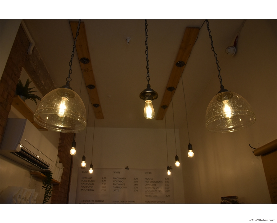 The staff aren't silly though: they've made sure they have the best light bulbs in the shop!