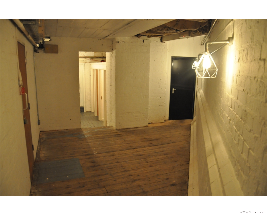 ... leads into yet another room, which, in 2016, was still bare...