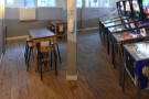 There are also more (socially-distanced) tables.