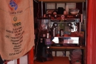The heart of the operation: a two-group Fracino espresso machine & Sanremo grinder.