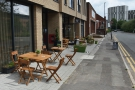 On the north side of Parkgate, you'll find Gloria & Lil's, with lots of tables outside.