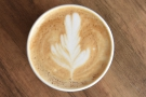 ... cups at the moment (due to COVID-19). I'll leave you with my lovely latte art.