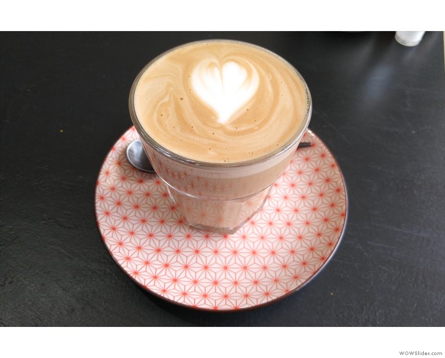 However, I will leave you with my flat white...