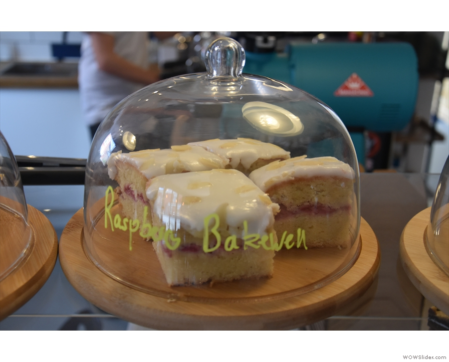 ... sweet things that day, otherwise this raspberry bakewell would have tempted me!