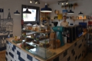 A view of the counter from the armchairs. However, that's not all. Past the counter...