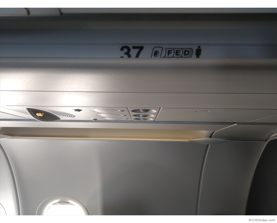 ... with the A321neo managing to cram in 37 rows of seats!