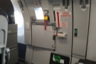 This is the emergency exit door on my side...