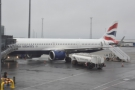 My British Airways A321neo which took me to Iceland, on the stand at Keflavik Airport.