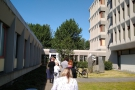 The queue at the Reykjavik COVID-19 test centre: not as fearsome as it looks!