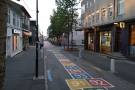 Central Reykjavik, which is normally packed with people, looking blissfully quiet at 05:55!