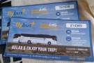 Our Flybus tickets, rather important for organising our return to the airport.