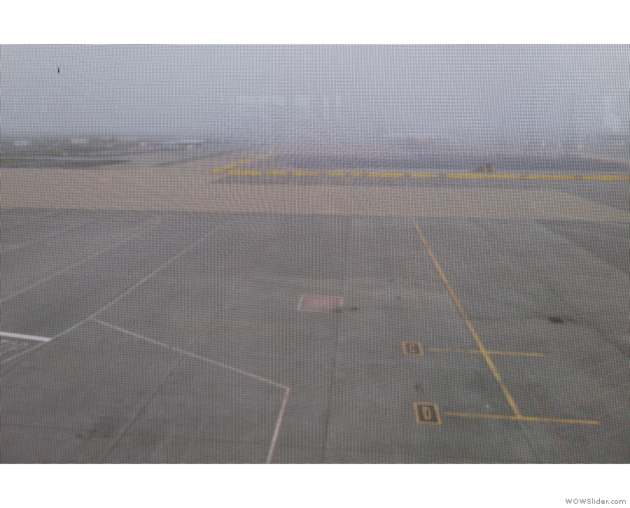 ... wasn't up to much (even without the screening, the airport was covered in fog).