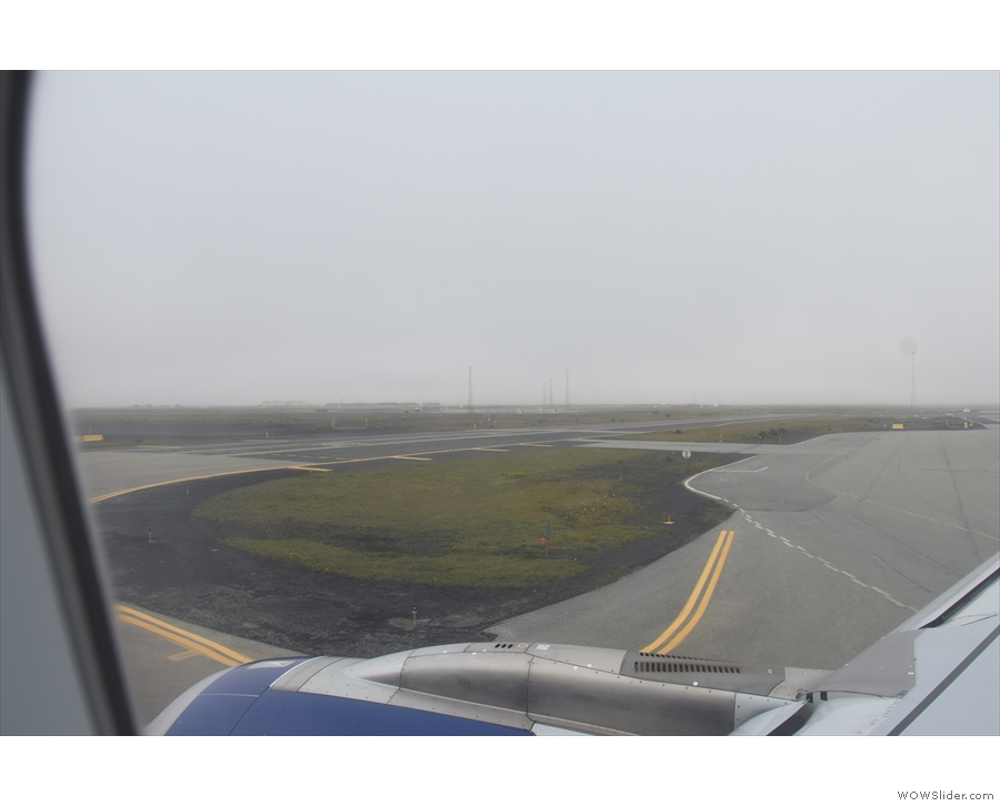 Then we were off, taxiing out to the runway.