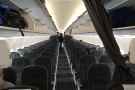 Unlike the flight out, where I was sitting in the back (Euro Traveller, aka economy)...