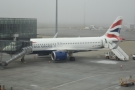 My Airbus A320, waiting to take me back to London Heathrow.