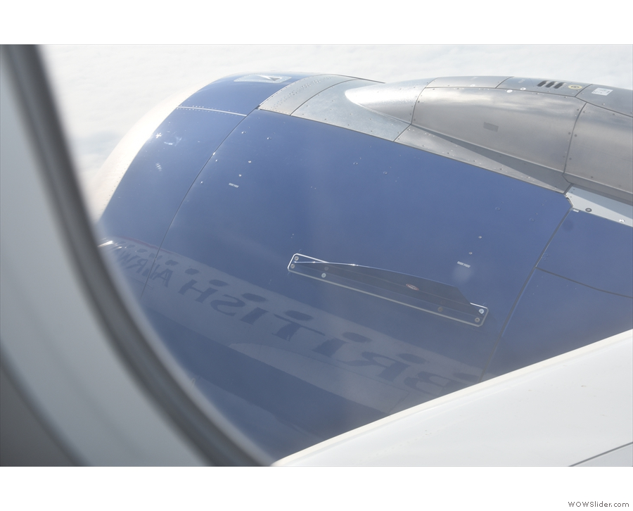 I almost got the whole of 'British Airways' reflected on the engine!