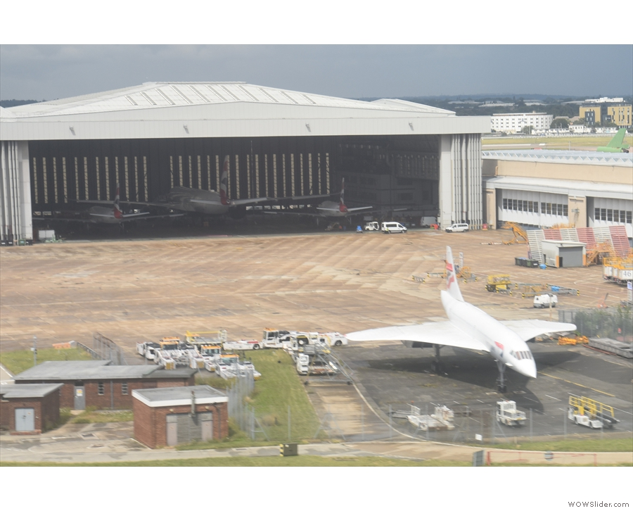 ... and Concorde! In all my landings, I'd never noticed it before!