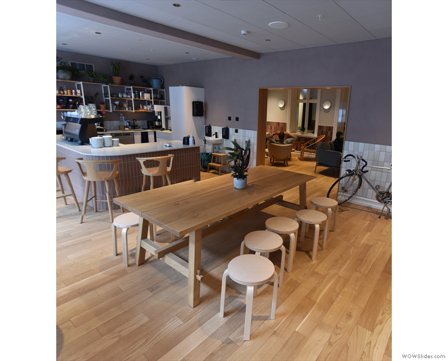 ... and this is the view you'll have of Kaffi Ó-le, stretching away to your left.