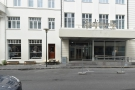 The new Radisson Blu 1919 hotel on Hafnastraeti in Reykjavik and, to the left...