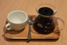 ... had the same coffee as a pour-over, served in a karafe, with a cup of the side.