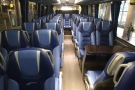 Apart from a couple at the front, I had the coach to myself.