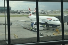 A last look at my A320 before I head off to passport control...