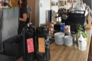 ... while at the far end of the counter (where you collect your order) is the batch brew.