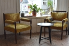 ... and these lovely chairs.