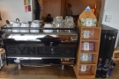Espresso, meanwhile, comes from this Synesso espresso machine to the left...