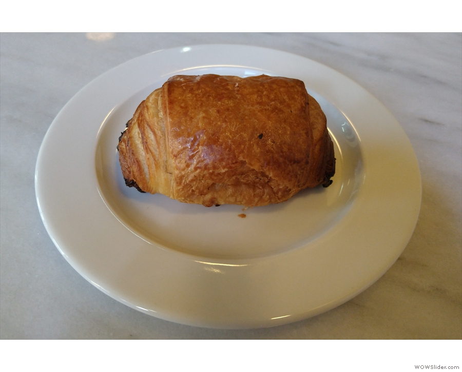 ... and a pan au chocolat, which is where I'll leave you.